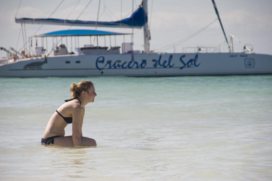 Plavba na katamaránu Crucero del Sol