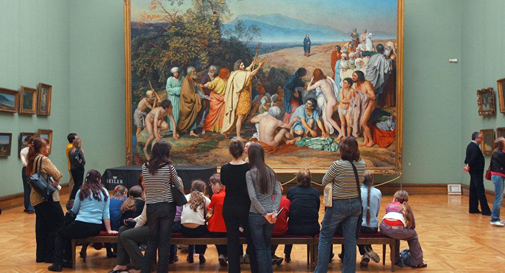 Moskva Tretjakovská galerie