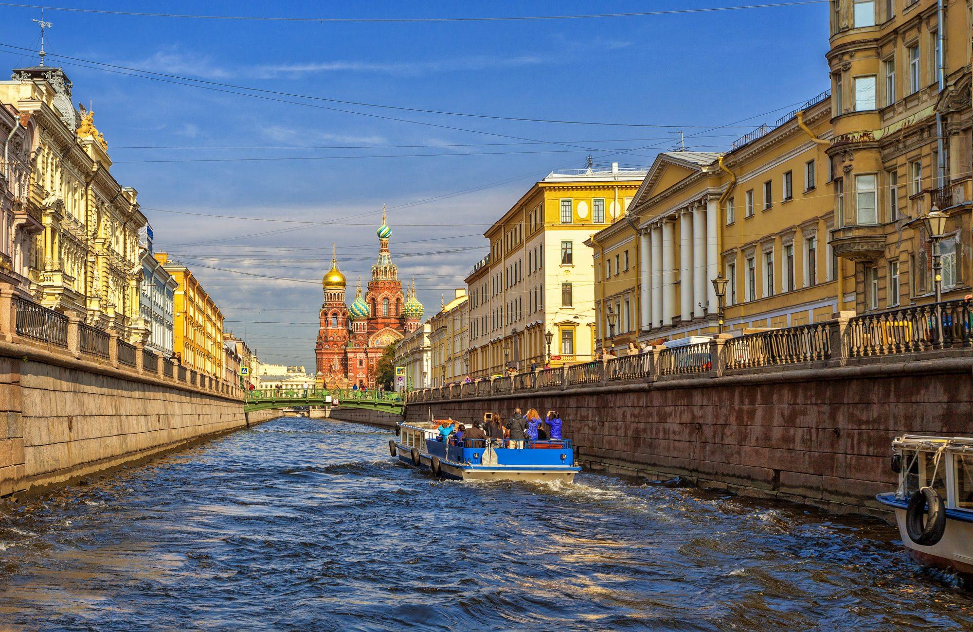 Půldenní výlet Petrohrad