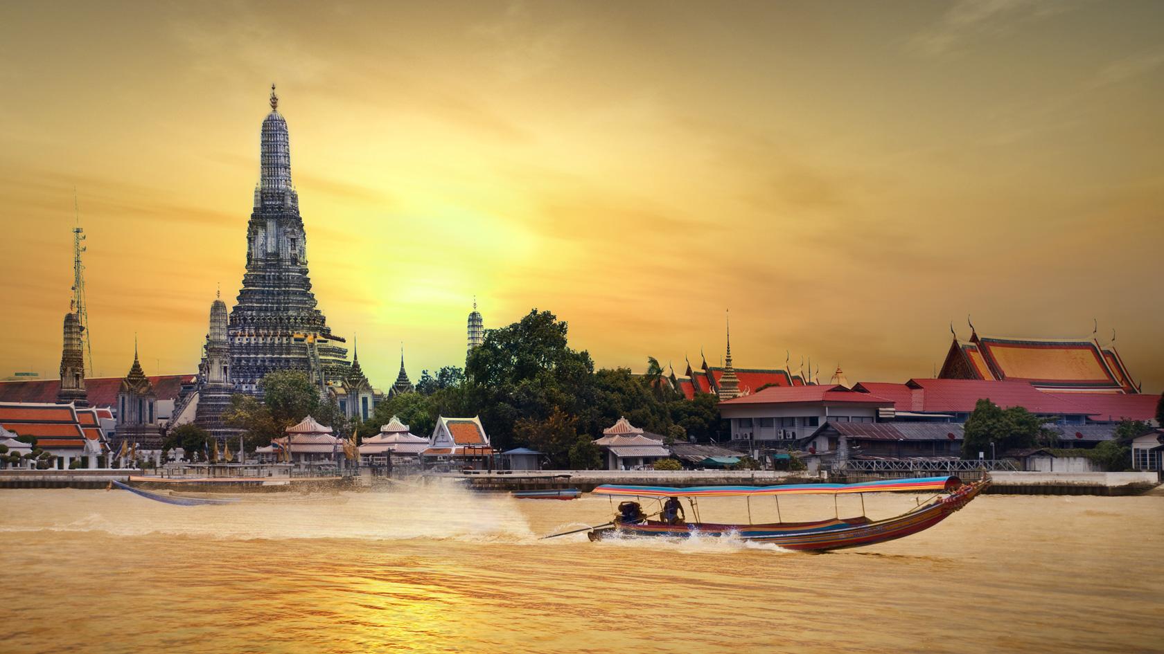 Celodenní okruh Bangkokem