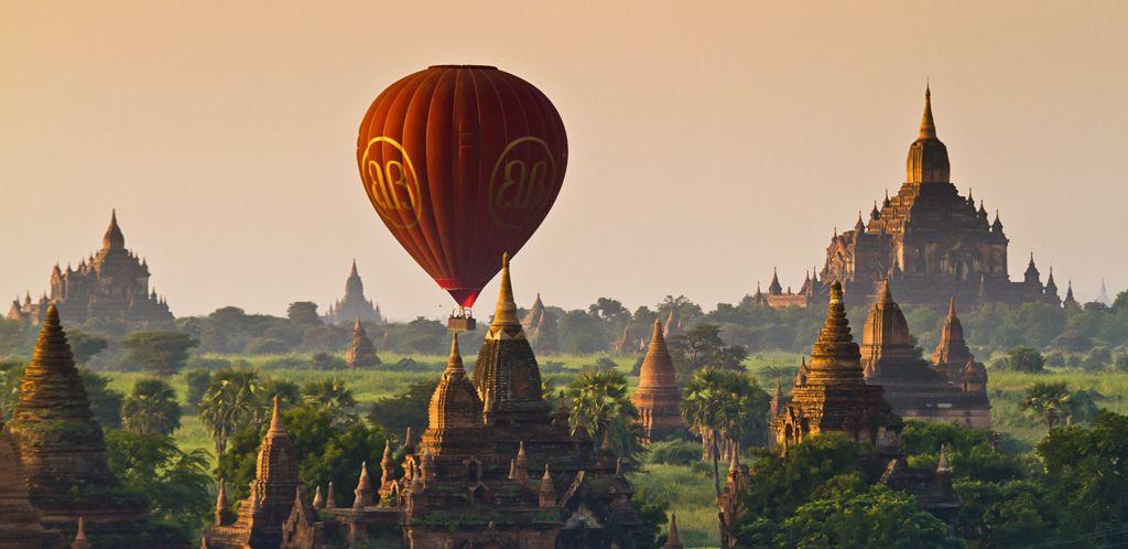 Let balónem nad Baganem