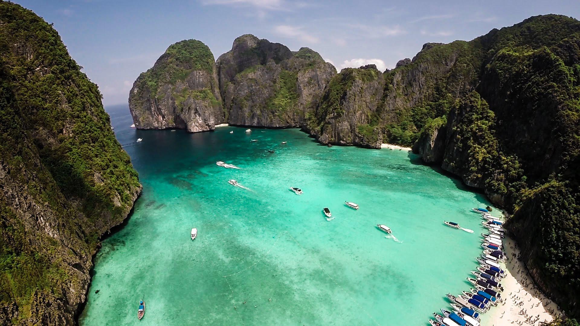 Výlet kolem ostrova Phi Phi