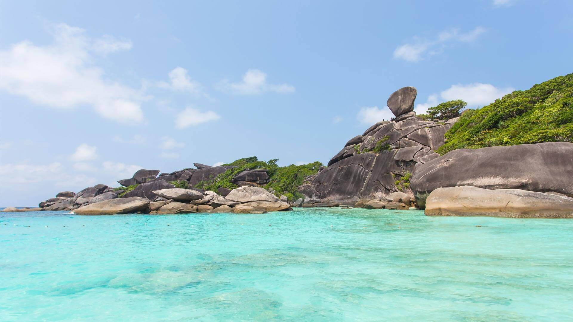 Similanské ostrovy