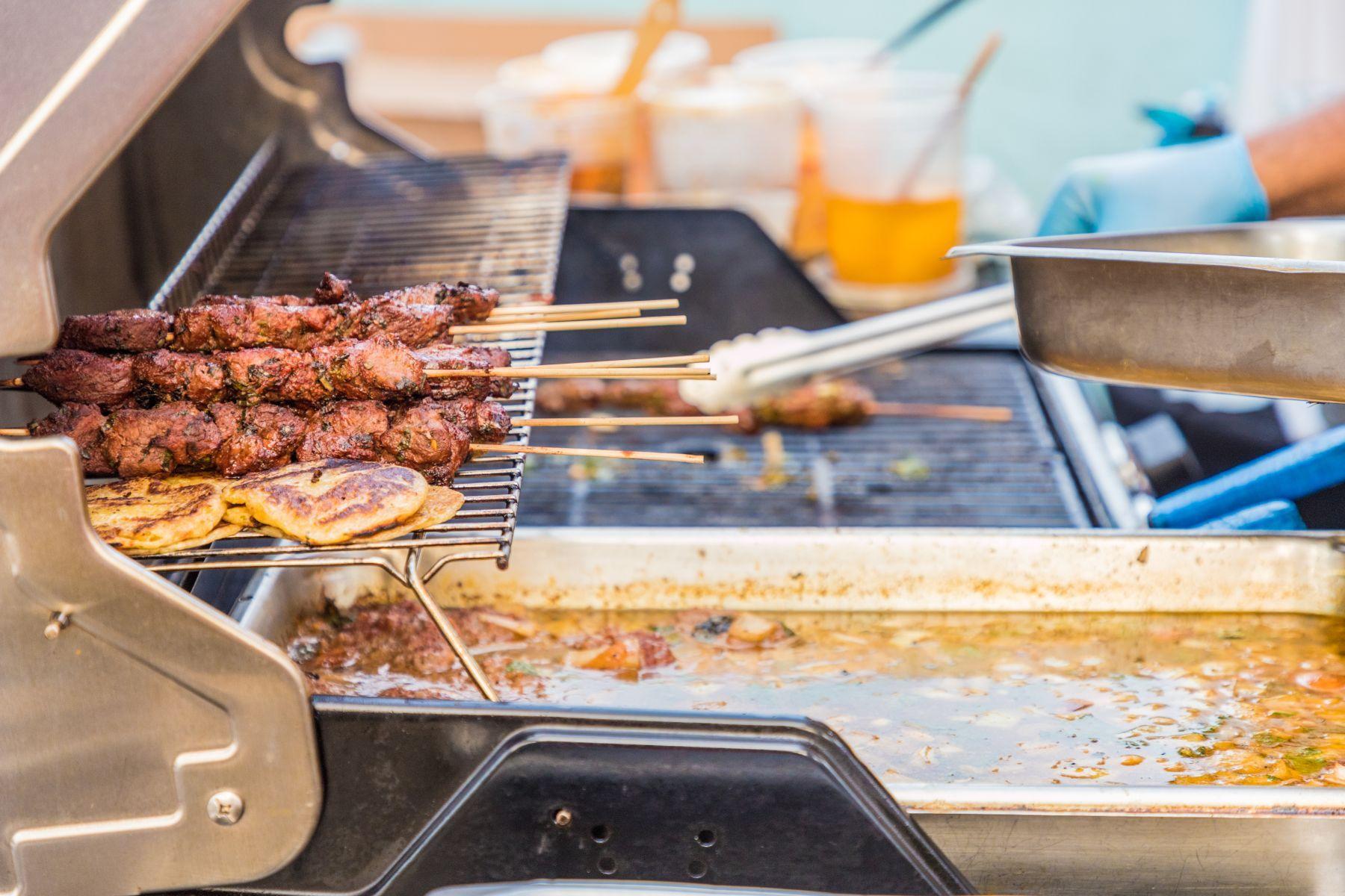 Grilované maso – panamský street food