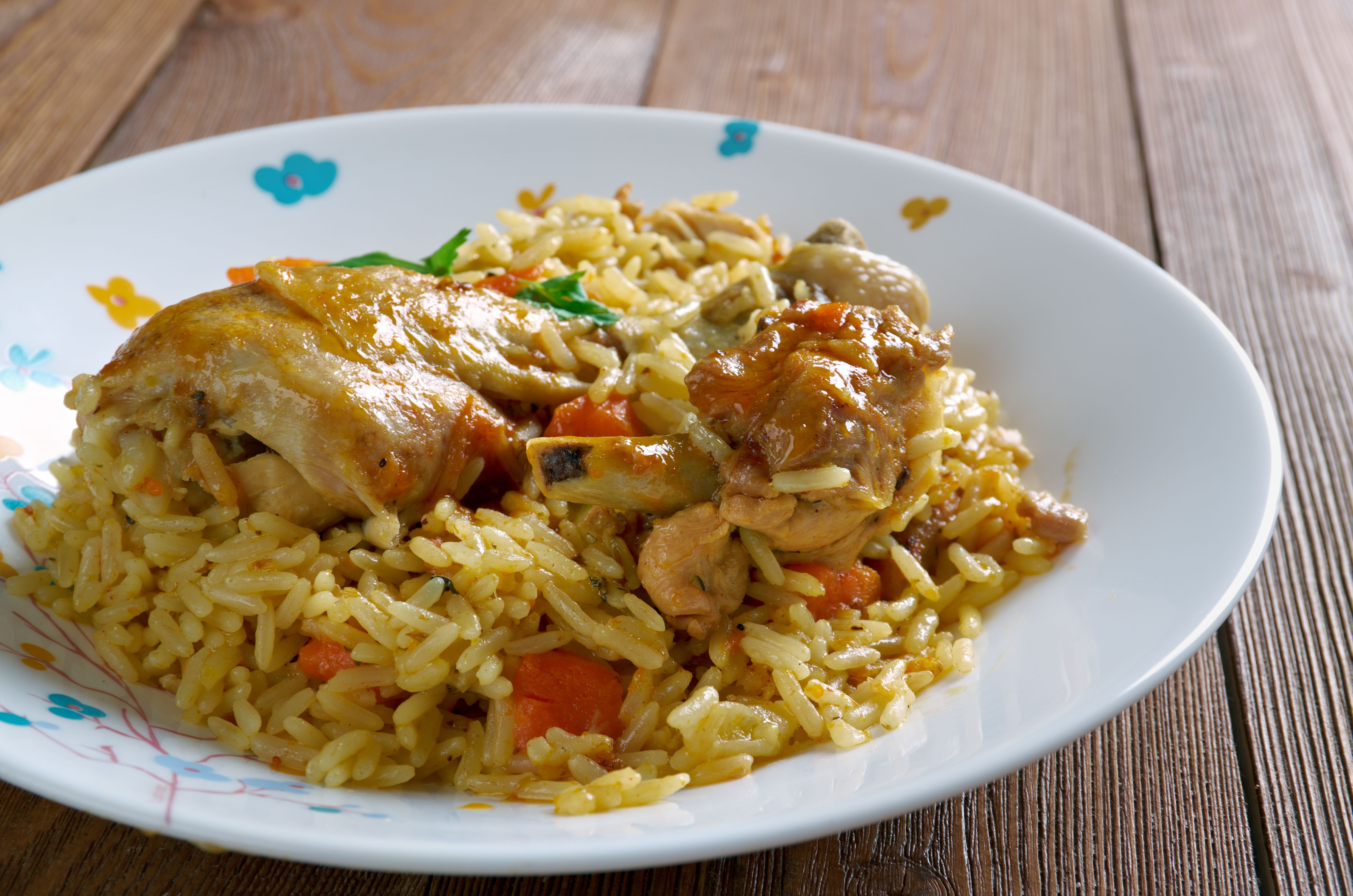 Machbous - tradiční jídlo