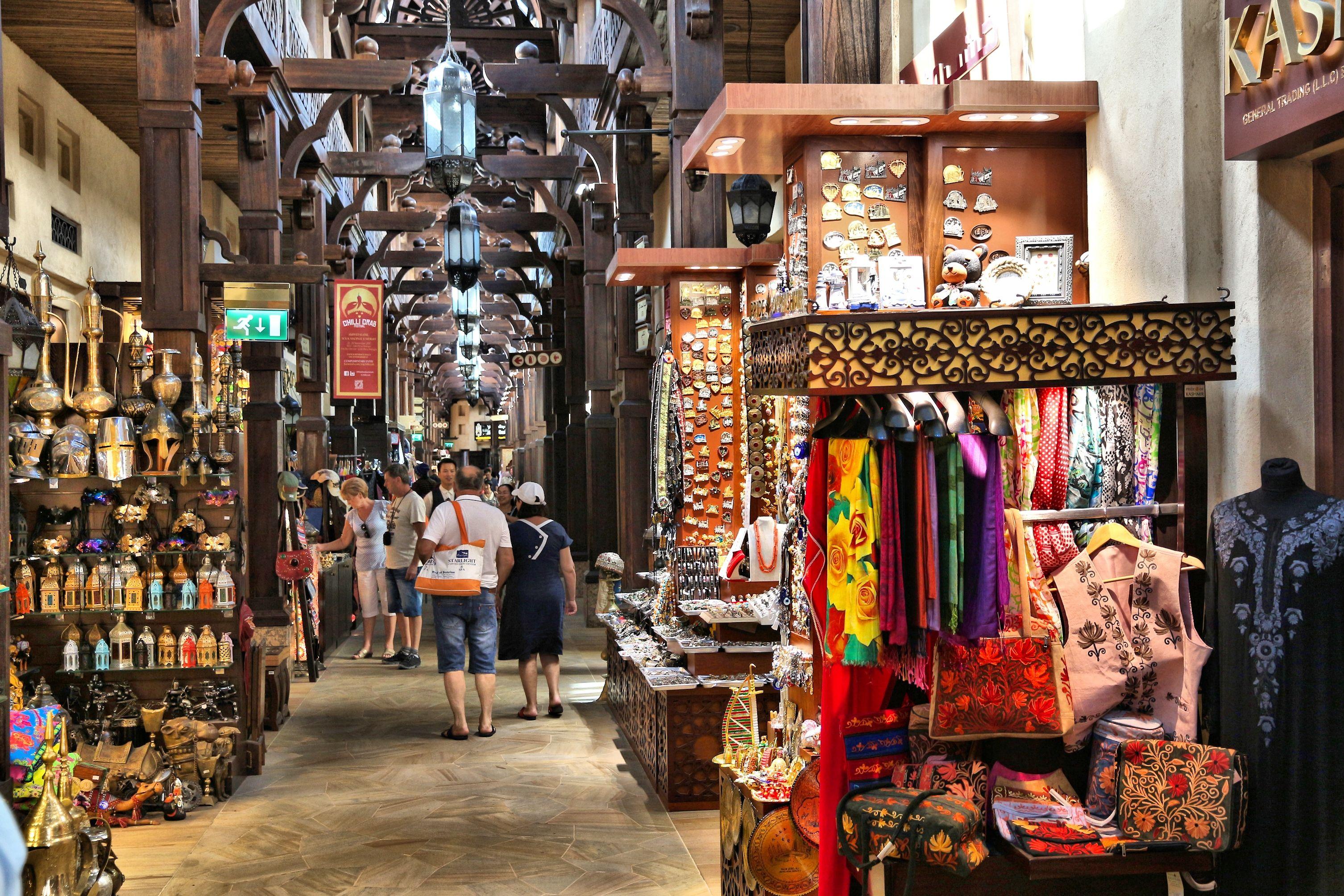 nakupování Dubaj