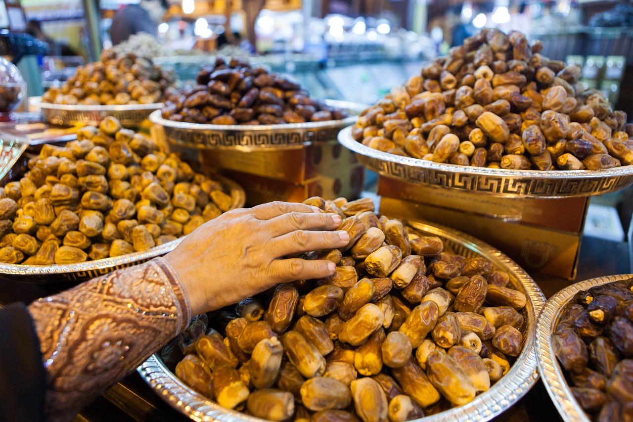 nakupování Dubaj - potraviny