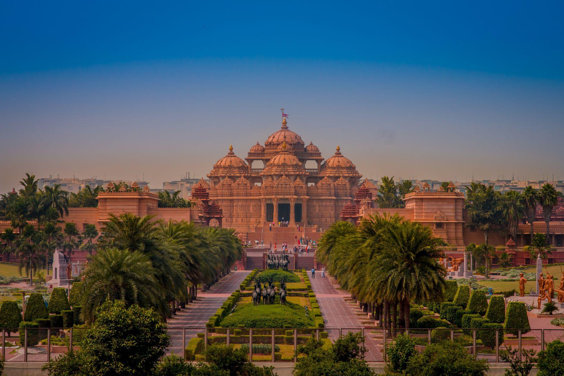 Chrám Akshardham v Jaipuru