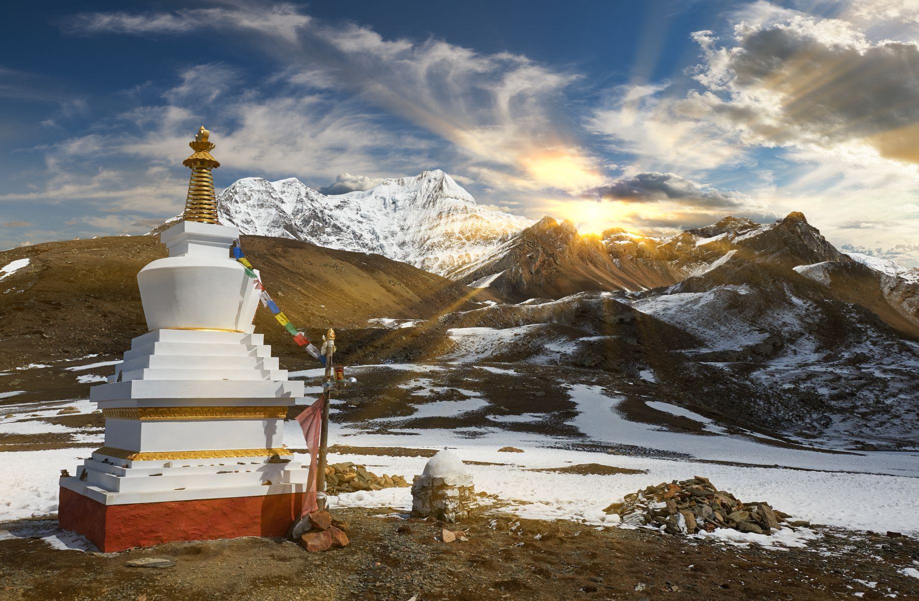 horské pásmo Annapurna