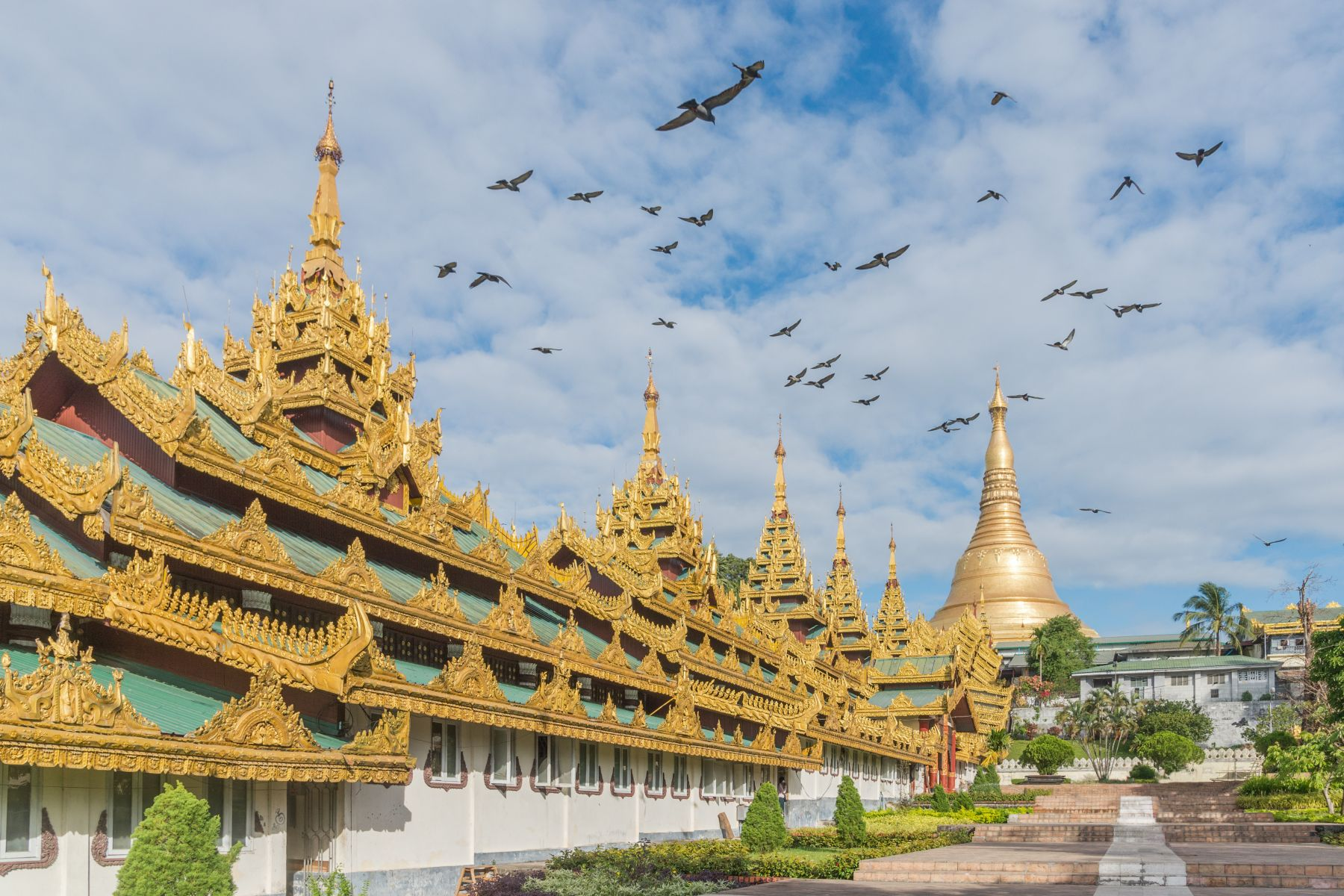 památky Myanmar