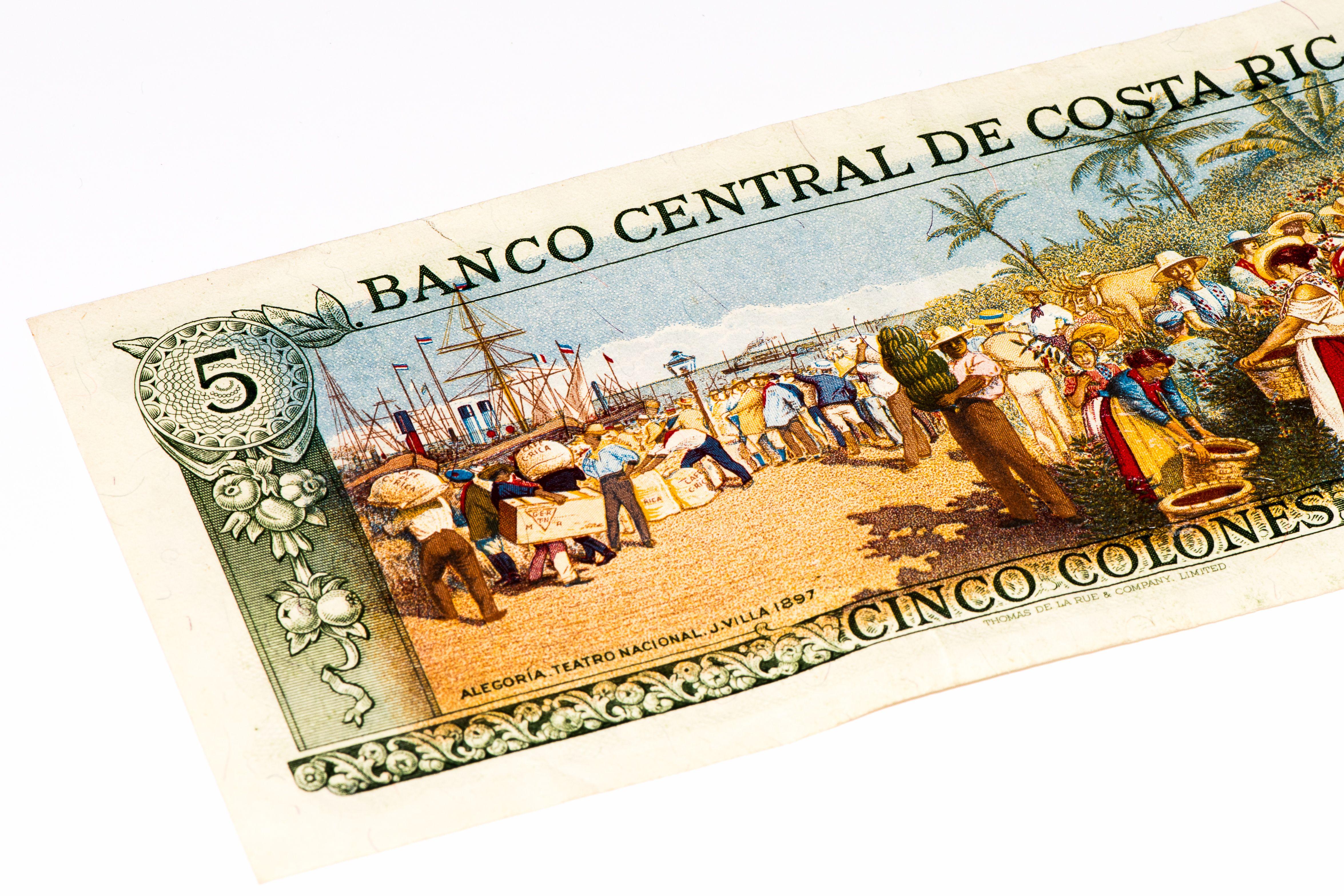 kostarická měna colon
