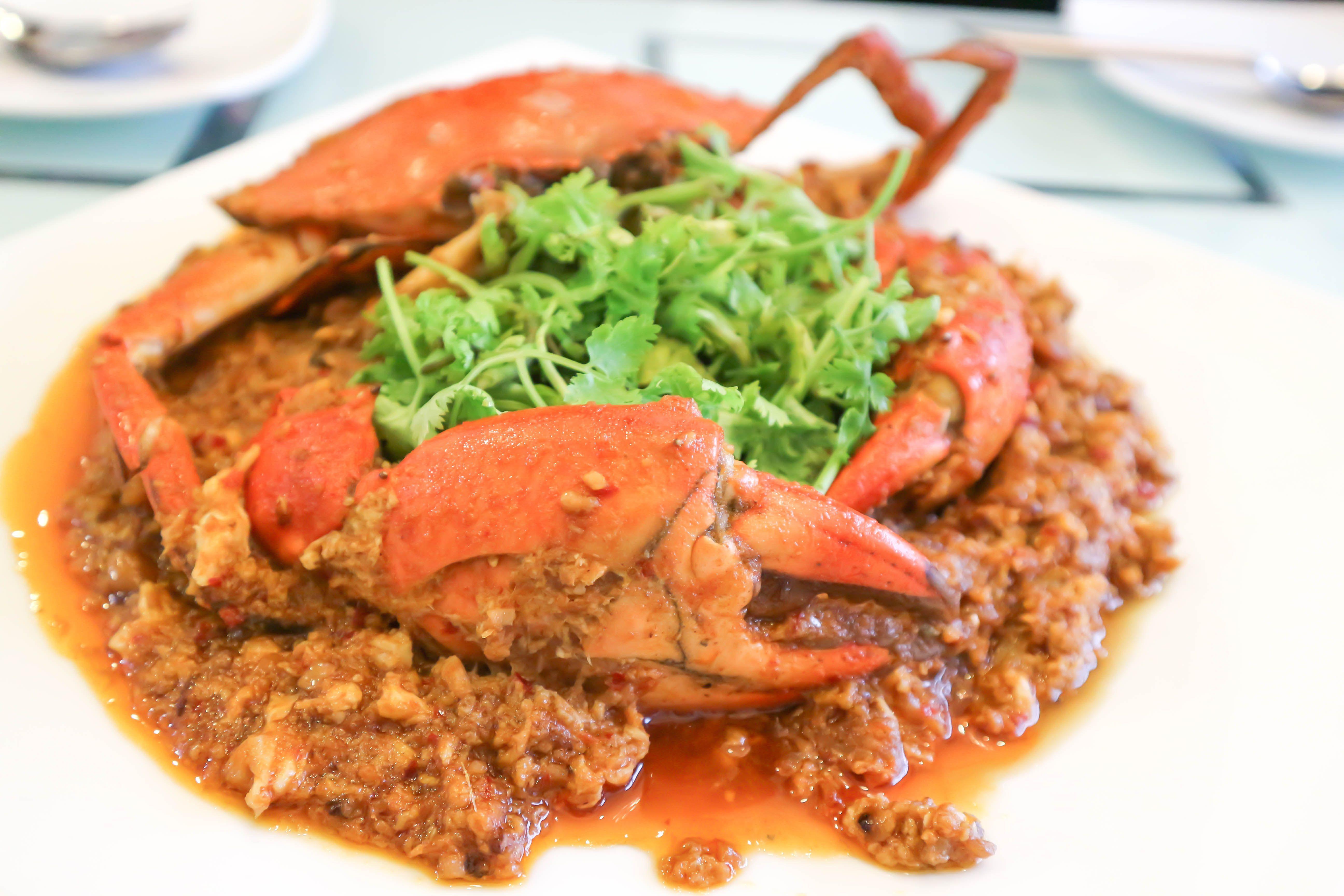 Singapurský chilli crab