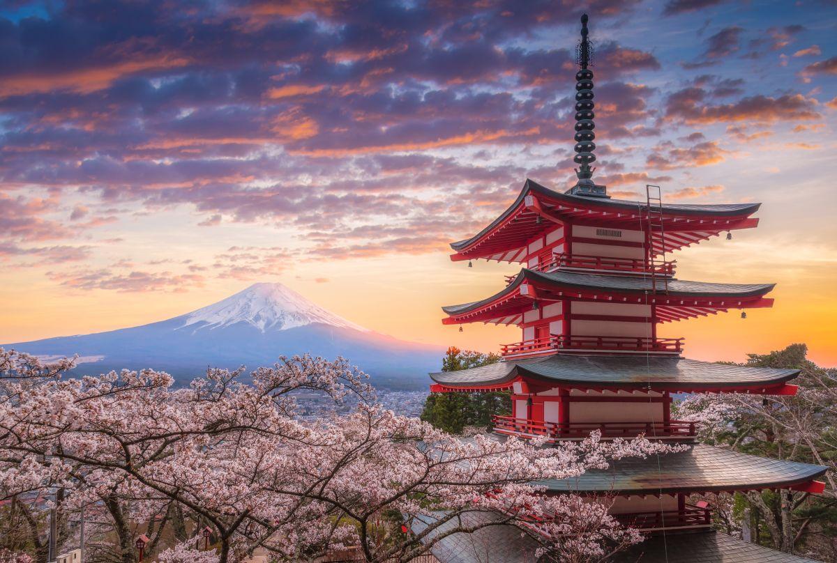 sopka Fudzi