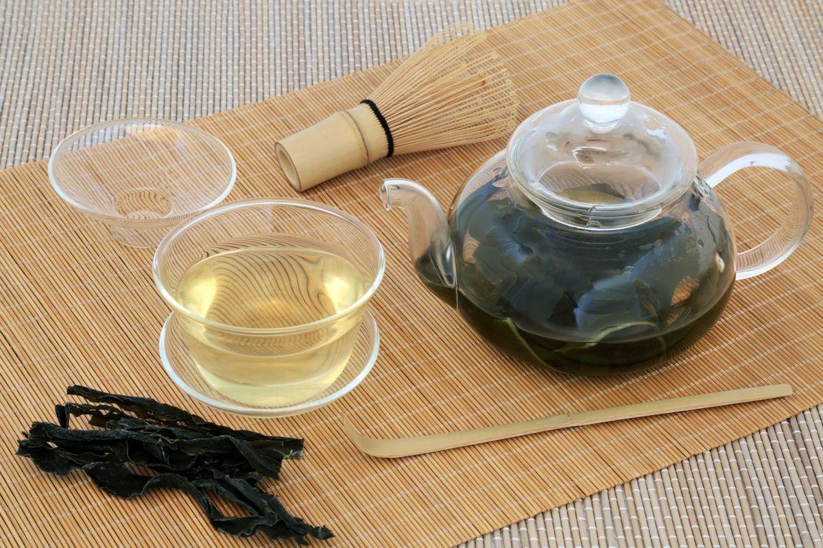 typický čaj Sencha