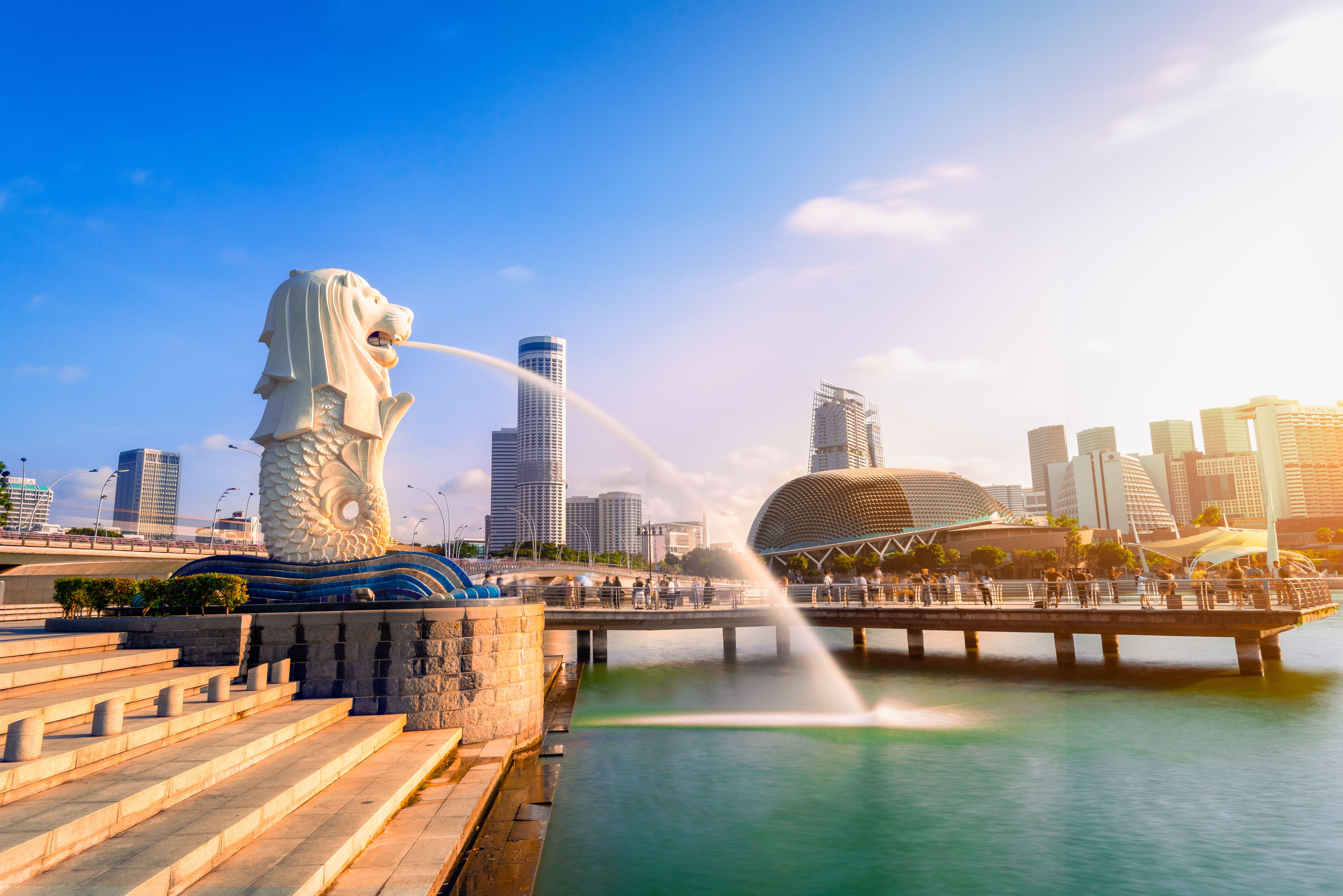 Singapur duben