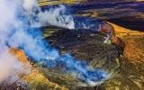 Fotky z ráje: Podívejte se na největší z Havajských ostrovů a sopku, která má 10 km