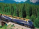 Kanada panoramatickým vlakem