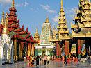 Thajsko - Yangon (Barma)