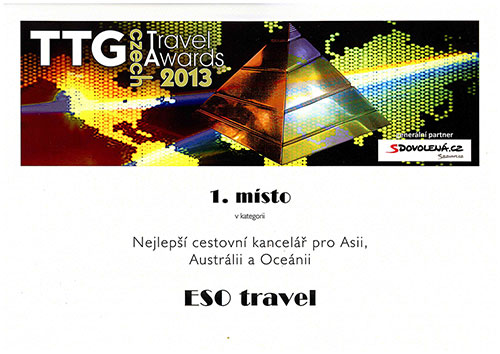 TTG Czech Trawel Awards 2013