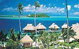 Krásné ženy a černý písek najdete na ostrově lásky Tahiti