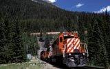 Nitrem hory spirálovitými tunely: Přes kanadské Skalnaté hory vede unikátní železnice