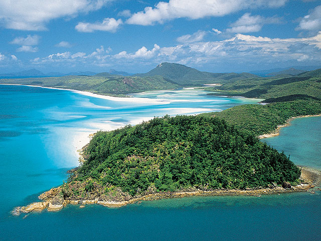 NP Whitsundays Islands - Austrálie - Queensland