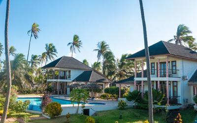 Pohled na hotel od pláže | Zawadi Beach Villas Matemwe
