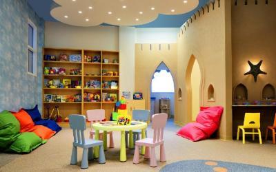Sheraton Sharjah - dětský koutek