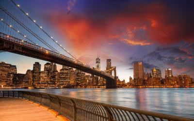 NY manhattan bridge