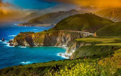 Nedaleko Big Sur a Monterey | Pacificka dálnice