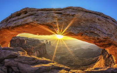 Úsvit u Mesa Arch, nejkrásnější výhled Ameriky | Canyonlands NP