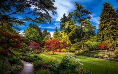 Navštivte jedinečnou botanickou zahradu | Butchart Garden