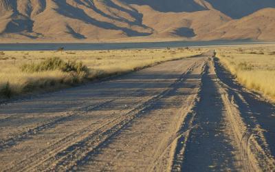 Cestou ze Solitaire | Namibie