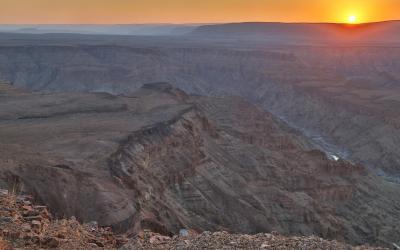 Fish River Canyon, druhý největší kaňon světa | Namibia