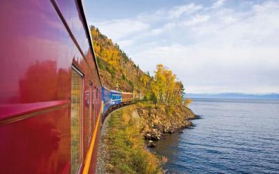 Vlak   Bajkal Lake