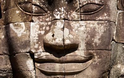 Angkor head