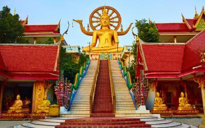 Thajsko | Koh Samui_Big Budha