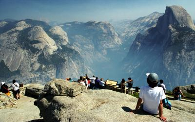 USA | Yosemite NP_Glacier Point