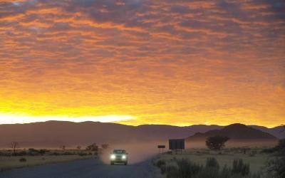 Svítání v NP Namib-Naukluft | Namibia