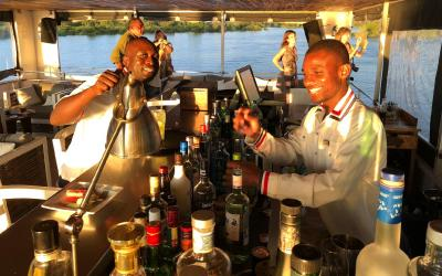 Plavba po Zambezi   Victoria Falls