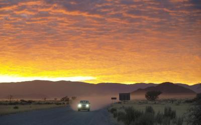 Svítání v NP Namib-Naukluft | Namib-Naukluft NP