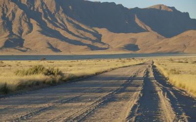 Cestou k Solitaire | Sossusvlei a Deadvlei