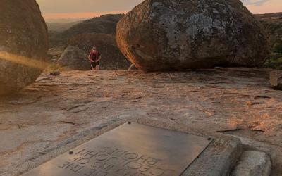 U hrobu Cecila Rhodese | Matobo Hills NP
