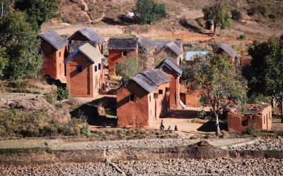 Madagaskar - vesnice
