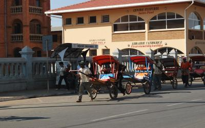 Abtsirabe rikšové | Madagaskar - Antsirabe 6