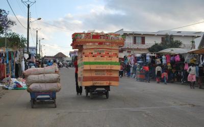 Fianarantsoa tržiště | Madagaskare - Fianarantsoa