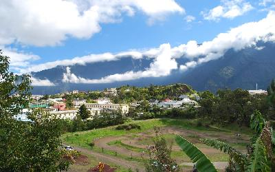 Pohled do údolí | Réunion Cilaos 2