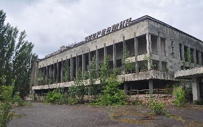 Černobyl - dům kultury