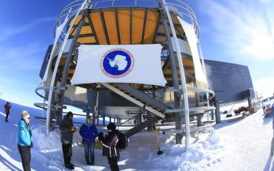 Amundsen-Scottova stanice - vstup