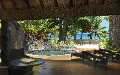 Pokoj Beach front suite s bazénem 2 | 741 Beachcomber Trou Aux Biches